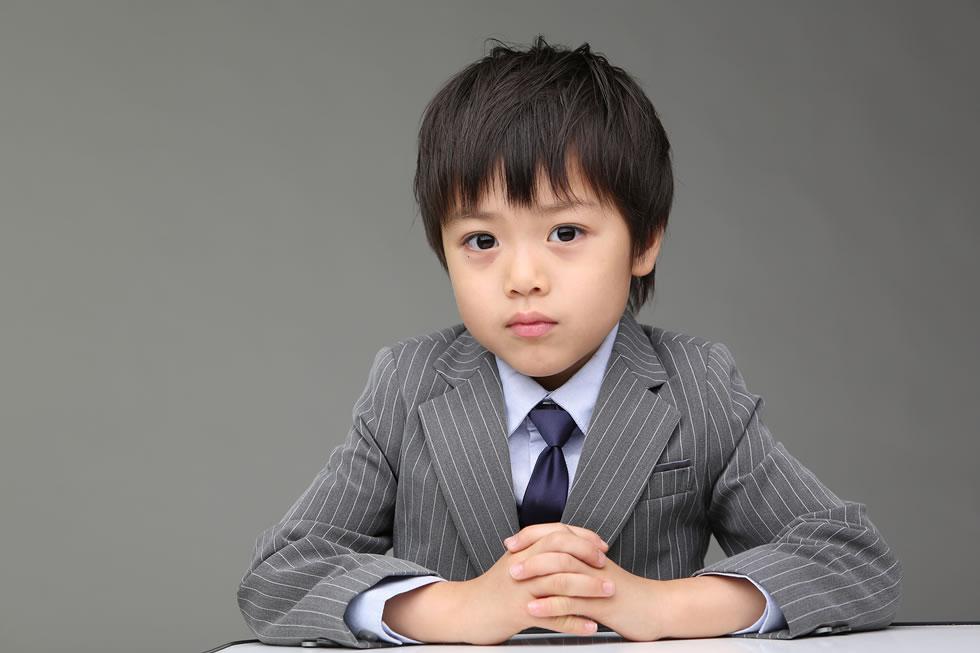 七五三男5歳5才イケメンかっこいい髪形スーツ雑誌