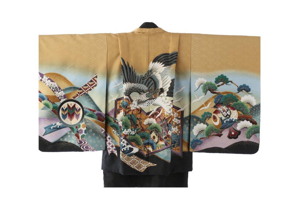 5M-27 茶・鷹に松