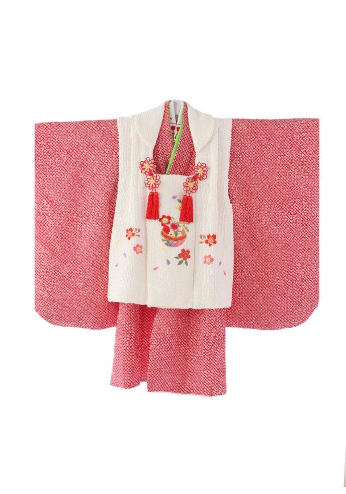 3M-28 白ピンク・ちりめん正絹
