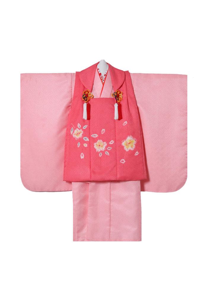 3s-7 ピンク・花絞り