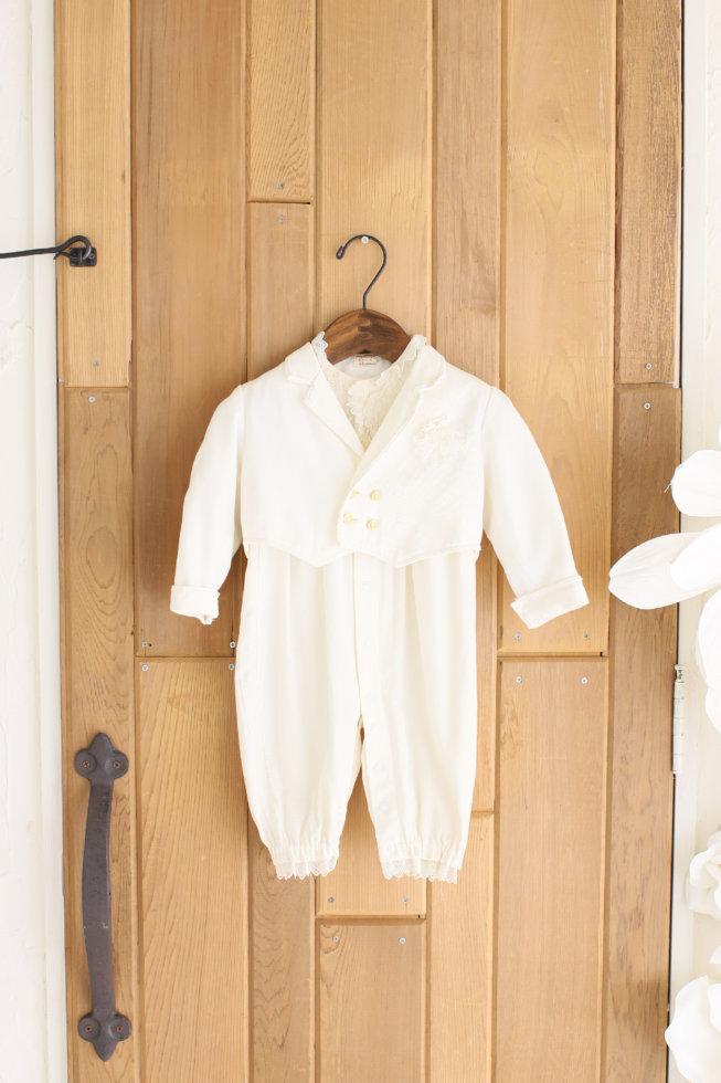 Boy ホワイトスーツ
